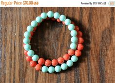 On Sale Mother and Daughter Bracelet Jewelry by ShellesStuff