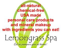 Join My Lemongrass Spa Party! Check out the body care products you can literally eat with a spoon… | Nourishing Treasures