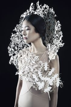 Picture by french photographer Pauline Darley dress by Kamilya Kuspan