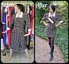 Refashionista.net .... Taking op shop finds and re-jigging them.
