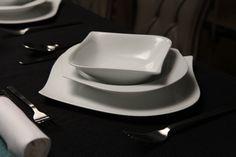 Kütahya Porselen 36 Prç.Tahyaa Kare Yemek Takımı 30183
