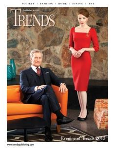 The Sept./Oct. issue of Trends magazine is out. Visit www.trendsmagazine.com for a peek.