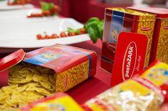 Jars containing pasta. #pasta #Italy #food #photo