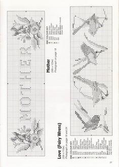 Gallery.ru / Фото #23 - 3 - tymannost Stitch 2, Cross Stitch, Australian Birds, Bullet Journal, Charts, Gallery, Birds, Punto De Cruz, Graphics