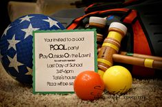 Last Day of School~After School Party Time - lots of fun start the summer party ideas!