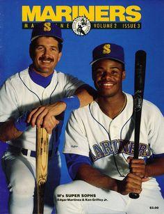 Edgar Martinez and Ken Griffey Jr.