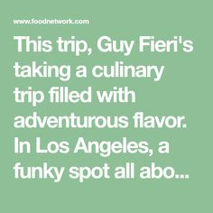 Guy Fieri Food Truck Hawaii