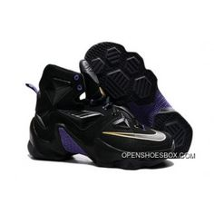 ... b2200 3cdfd Nike LeBron 13 Black Purple Gold Discount website for  discount ... 184358a1b8c7