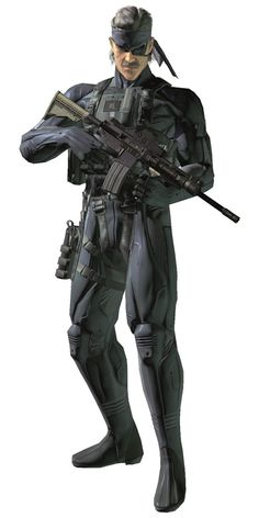 Solid Snake in Octocamo