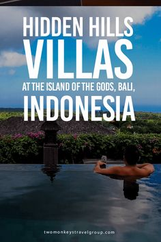 Hidden Hills Villas at the Island of the Gods, Bali, Indonesia Bali, also called as the Island of the Gods is a popular destination for travelers in South East Asia.  It's frequented for its beautiful beaches, rich culture, delicious food, tranquil nature and giant waves for surfing. Uluwatu is a popular surfing spot in Bali. Its location at the tip of the peninsula with high hills and views of the Indian Ocean makes it among the best locations for an enjoyable and relaxing trip in Bali.