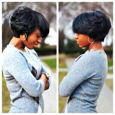 Short natural hairstyles for black women (5)
