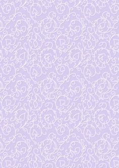 Swirly Vines Background in Lilac on Craftsuprint designed by Karen Adair - This background paper has a lovely white swirly vine pattern on. If you like this check out my other designs, just click on my name. - Now available for download!