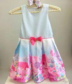 Vestido Infantil pirulitos Mon Sucre