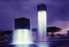 Floating fountains japan
