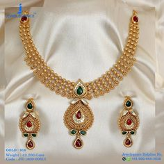 Gold 916 Premium Design Get in touch with us on Antique Jewellery Designs, Gold Jewellery Design, Fashion Jewellery, Handmade Jewellery, Gold Jewelry Simple, Necklace Designs, Gold Necklace, Necklace Set, Chocker Necklace