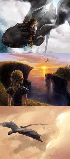 How to Train Your Dragon art.