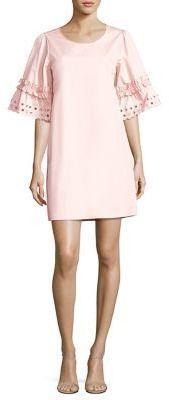 See by Chloe Ruffled Cotton Poplin Dress