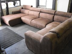 C Shaped Sectional Couch