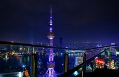 Shanghai, China December 2015 Back to the Shanghai and Macau series... This image shows the Oriental Pearl Tower and the surrounding Shanghai cityscape from an elevated point of view. Copyright Rebecca Ang 2016. All Rights Reserved. Do not copy, reproduce, download or use in any way without permission. https://www.picturedashboard.com