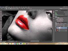 Tutorial Photoshop Fotografía Blanco Negro con Color - YouTube