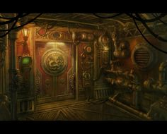 ArtStation - The Den, Mac Smith