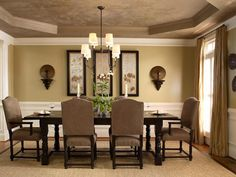 59020 round mirror in dining room dining room transitional with living room dining room wingback chairs dining room ii pinterest dining room furniture - Dining Room Wall Decor Ideas Pinterest