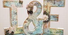 Letras decorativas, ¡perfectas para una boda!