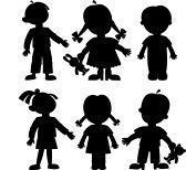 Child Silhouette Images, Stock Pictures, Royalty Free Child Silhouette Photos And Stock Photography Silhouette Clip Art, Silhouette Images, Girl Silhouette, Stock Pictures, Stock Photos, Brother And Sister Relationship, Shadow Theatre, Outline Drawings, Shadow Puppets
