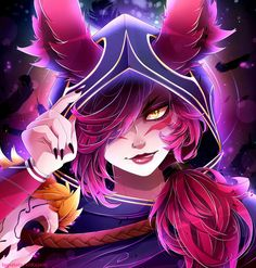 Xayah❣ by Invidiata -League of Legends