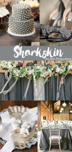 Sharkskin is one of Pantone's colors for Fall 2016.  This neutral gray is edgy and will pair well with any other color!