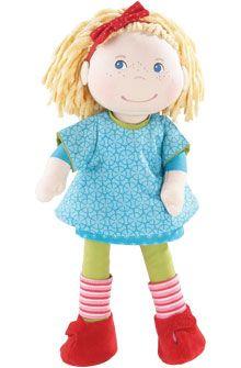 doll/Puppe:  HABA - Erfinder für Kinder - Puppe Annie - Puppen 34 cm - ab 1 1/2