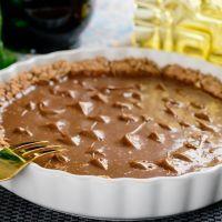 Chocolate covered cherry pie