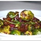 Brussels Sprouts with Bacon and Walnuts Recipe | SAVEUR