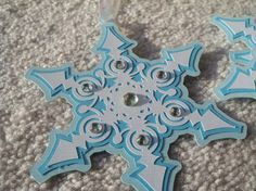 Digital Snowflake Gift Tag SVG/PNG file by SassaScraps on Etsy