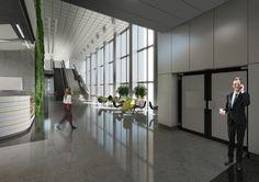 Projekt strefy wejściowej / The project of an entry zone