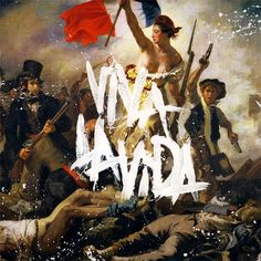 Coldplay - Viva La Vida LP own it on CD. I love Coldplay. Have 4 cd's of their excellent music. Chris Martin is a cutie. Coldplay Album Cover, Coldplay Songs, Music Album Covers, Music Albums, Parachutes Coldplay, Michael Buble, Cd Cover, Album Covers, Songs
