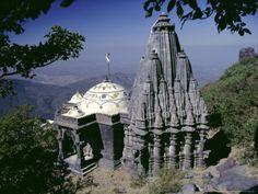 Jain Holy Hill and Temple Complex, Mount Girnar, Junagadh (Junagarh), Gujarat, India