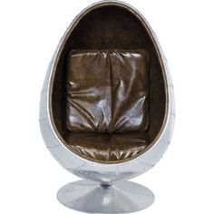 ball chair with arms - Google Search Swivel Chair, Armchair, Cosy Sofa, Ball Chair, Sit Back And Relax, Simple Pleasures, Brown Leather, Mirror, Soho