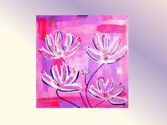 Fleurs d'Eté - Pittura in Acrilico su tela 50x50 http://ilmondodifam.wix.com/famou