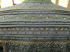 Heirloom Sewing, Embroidered Jacket, Medieval, Jackets, Vintage, Art, Folklore, Scrappy Quilts, Vestidos