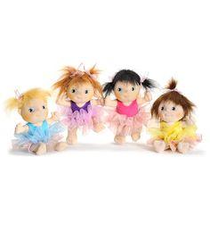 Rubens Barn Mini Ballerina Doll--perfect for baby girl gift!