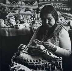 Cowichan Knitters and Salish Weavers xx cowichan salish sweater knitting colourwork history