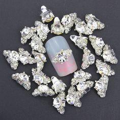 Blueness bijoux ongles nail art rhinestone decoration h DIY nail  accessories alloy nails Manicure Jewelry cbf8cd325b91