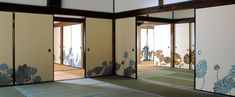 ANA の機内誌のコラム『道草の眦』で取り上げられていた 東山青蓮院門跡にある木村英輝さんの襖絵
