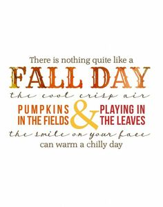 So September has hit and I've got a couple of FREE Fall Printables for you! Print them out, frame them up and use them around the house in your fall decor! I LOVE FALL Autumn Day, Autumn Home, I Fall, Autumn Leaves, Fall Days, Hello Autumn, Autumn Style, Happy Fall Y'all, Mood