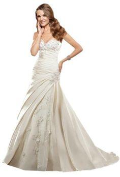 ZHUOLAN Ivory Satin Sweetheart Corset Simple Wedding Dress 8 ZHUOLAN http://www.amazon.com/dp/B00K1XHN10/ref=cm_sw_r_pi_dp_sLCcub0QBGJJ0