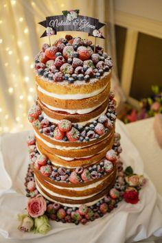 Mmmmm - Natalie and Glenn's cake looked yummy!