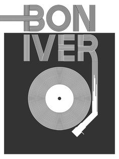 Bon Iver Poster by Joe-Reale.deviantart.com