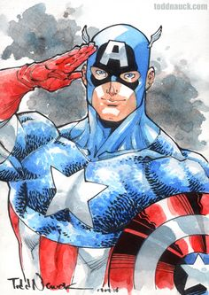 Captain America by Todd Nauck *