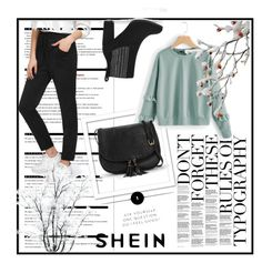 """SheIn 4/10 IV"" by dinna-mehic ❤ liked on Polyvore featuring Arche"